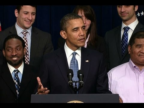 President Obama Speaks on Extending the Payroll Tax Cut and Unemployment Insurance