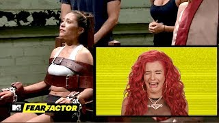Justina Valentine Reacts to Fear Factor's Most INTENSE Moments | MTV - MTV
