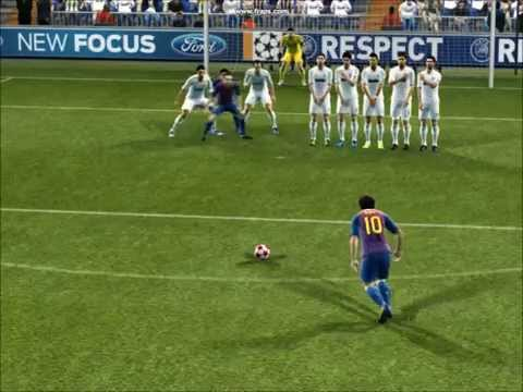PES 2012 MESSI GOALS HD 
