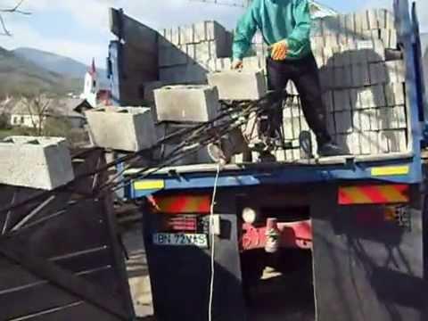 Prefabricate din beton (boltari)