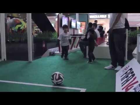 Beiramar Shopping recebe Arena FIFA 2014.