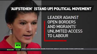 Left 2.0: Wagenknecht launches 'Stand Up' movement against German establishment - RUSSIATODAY