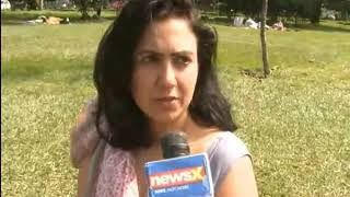 Jasmeen Patheja speaks with NewsX on Meet to Sleep campaign - NEWSXLIVE