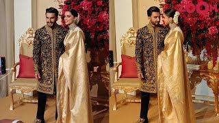 EXCLUSIVE Ranveer Singh & Deepika Padukone's Wedding Reception in Bangalore - ZOOMDEKHO