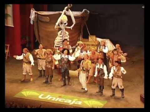Sesión de Final, la agrupación Los piratas actúa hoy en la modalidad de Comparsas.