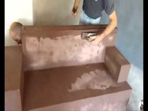 Related video - Banquette beton cellulaire ...