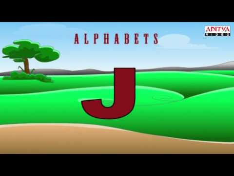 Alphabets - Kids Pre/Play School Nursery Rhymes Animated Video