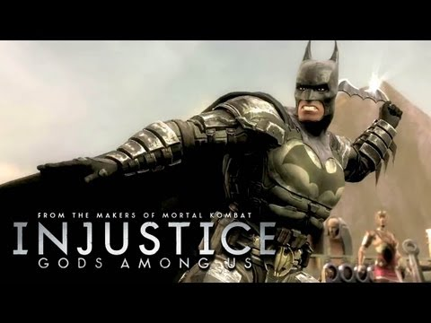 Injustice: Gods Among Us - 'Batman vs Wonder Woman Gameplay' TRUE-HD QUALITY