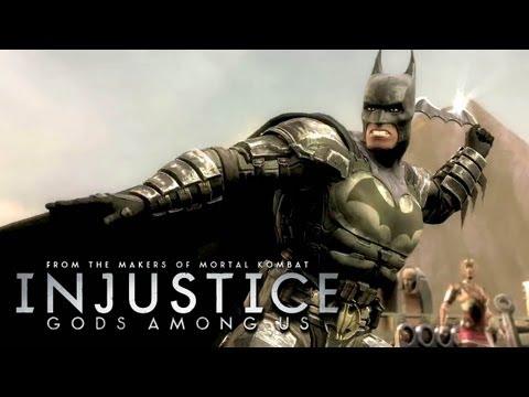 Injustice: Gods Among Us - 'Batman vs Wonder Woman Gameplay' TRUE-HD QUALITY