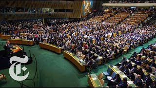 Trump's U.N. Speech Targets North Korea, Iran and Venezuela - THENEWYORKTIMES