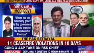 Congress blames govt for 'failing in diplomacy' - NEWSXLIVE