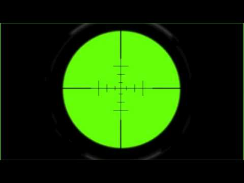 Green Screen Sniper Scope