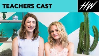 "Katy Colloton And Katie O'Brien From ""Teachers"" Film With A Bear! 