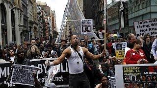مظاهرة في نيويورك ضد عنف الشرطة