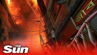 70 dead in Bangladesh fire - THESUNNEWSPAPER