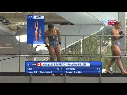 Meaghan Benfeito / Roseline Filion (Fina 2011 10M Sync Female Final)