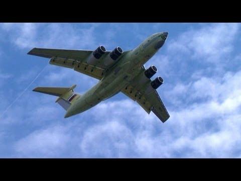 Proceso de fabricación de los aviones Il-76 en Rusia