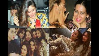In Graphics: SEE PICS: Kareena Kapoor's 'glittery' party night with Karisma, Amrita and Ma - ABPNEWSTV