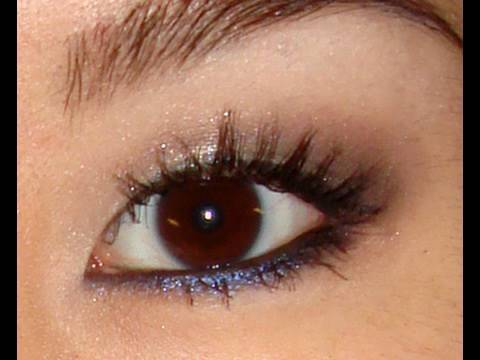 blue smokey eye makeup. Eye Makeup from quot;What#39;s in My