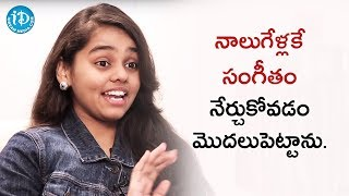 I Started Learning Music At The Age Of 4 - Shanmukha Priya || Talking Movies With iDream - IDREAMMOVIES