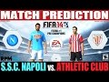 FIFA 14: Nápoles vs Athletic Club Match Prediction Fecha #1 Pre Champions League