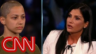 Shooting survivor confronts NRA's Loesch - CNN