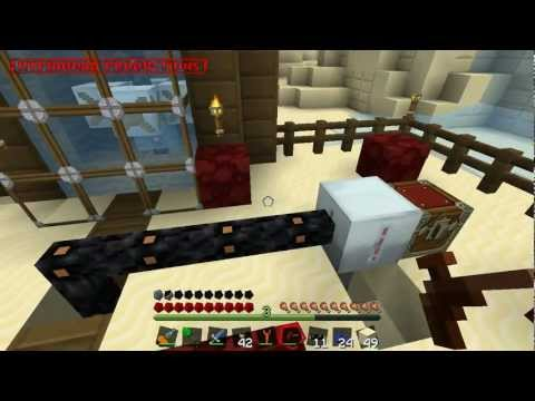 Minecraft: Industrial Revolution 3 - 23: Volcano House