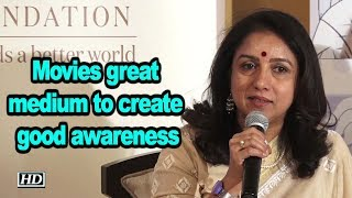 Movies great medium to create good awareness, says Revathi - IANSLIVE