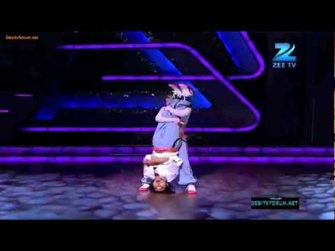 Sneha Gupta with pradeep gurung, Dance India Dance season 3, 28th Jan 2012 zenith dance company