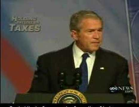 Bush Actually Said This in 2007