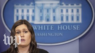 White House daily press briefing - WASHINGTONPOST