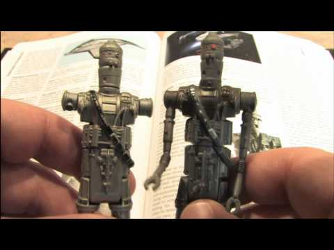 Classic Toy Room - IG-88 STAR WARS action figure review
