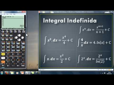 Calculando Integrais HP 50g