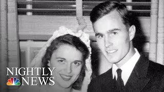 George H. W. Bush And Barbara Bush's Enduring Love Story | NBC Nightly News - NBCNEWS