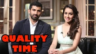 Shraddha Kapoor and Aditya Roy Kapoor spend quality time! | Bollywood News