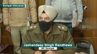 Video;Sonipat SP Jashandeep Singh Randhawa ने कहा उसने डर के तहत सभी बयान दिए