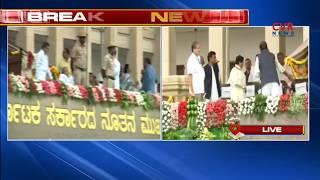 ఘనంగా ప్రమాణ స్వీకారం | JD(S) leader HD Kumaraswamy sworn in as Karnataka Chief Minister | CVR News - CVRNEWSOFFICIAL