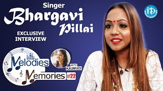 Singer Bhargavi Pillai Exclusive Interview || Melodies And Memories #22 - IDREAMMOVIES