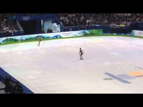 2010 Olympic Champion Yuna Kim's Triple Lutz (Perfect!!)