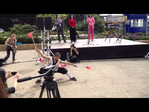 Age of Wushu media launch: Martial arts performance