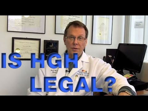 Is HGH Legal? | Los Angeles | Hollywood | Beverly Hills