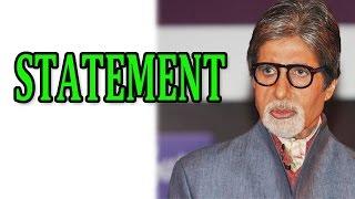 Amitabh Bachchan says he does not deserve a Bharat Ratna award | Shamitabh Movie