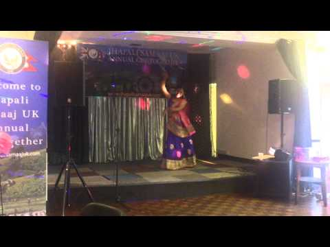Dance performance in Jhapali Samaaj UK Get-together 2014