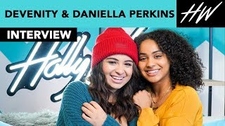 Daniella and Devenity Perkins Reveal Each Others Most Annoying Habits & New Projects! | Hollywire - HOLLYWIRETV