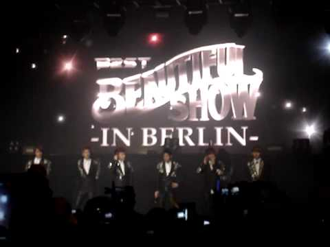 [fancam] 120212 BEAST - interview (Beautiful Show in Berlin)