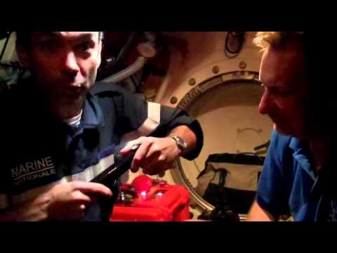Handpresso in a SUBMARINE - 150 meters below sea level