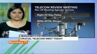 Market Pulse: Telecom Review Meeting: What's On The Agenda? - BLOOMBERGUTV