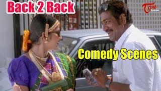 Khadgam Movie Comedy Scenes Back to Back | TeluguOne - TELUGUONE