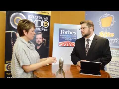 Angie Hicks Interview - Forbes Innovation Summit Indianapolis   Edge of the Web Radio