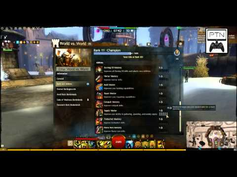 Teach The Noob - WvW 6 - Ranks - Guild Wars 2 - PTN The Part Time Nerd
